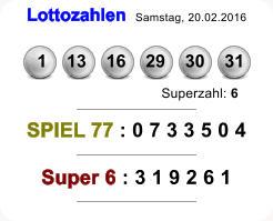 Lottoergebnisse Am Samstag